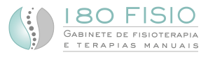 180 Fisio – Gabinete de Fisioterapia e Terapias Manuais – Lisboa Portugal Logo